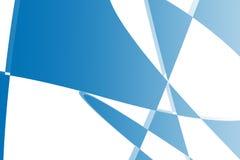 L'estratto blu modella l'illustrazione del fondo Immagini Stock