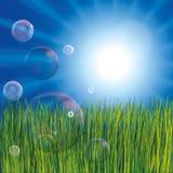 L'estratto bolle priorità bassa Immagine Stock