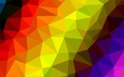 L'estratto colora il fondo del poligono fotografie stock libere da diritti