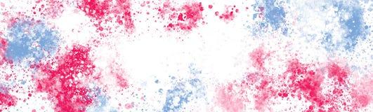 L'estratto Colourful schizza la struttura su grande tela royalty illustrazione gratis