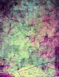 L'estratto di lerciume ha strutturato il collage di media misti, arte illustrazione vettoriale