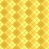 L'estratto giallo forma il tessuto Fotografie Stock Libere da Diritti