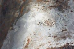 L'estratto ha corroso il fondo arrugginito variopinto del metallo, struttura arrugginita del metallo immagini stock libere da diritti