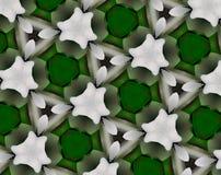 L'estratto ha espulso illustrazione del modello 3D di pentagono royalty illustrazione gratis