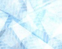 L'estratto ha sbiadito la progettazione blu del fondo del modello con struttura e le bande deboli di zigzag Fotografia Stock Libera da Diritti