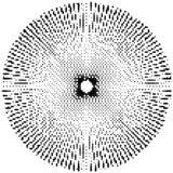 L'estratto ha scoppiato la struttura monocromatica Vettore di ENV 10 Fotografia Stock