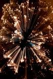 L'estratto ha zumato albero di Natale Fotografia Stock