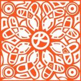 L'estratto monocromatico del hennè allinea il fondo Immagini Stock Libere da Diritti