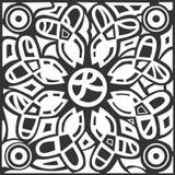 L'estratto monocromatico del hennè allinea il fondo Fotografie Stock