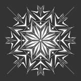 L'estratto monocromatico del hennè allinea il fondo Fotografia Stock Libera da Diritti
