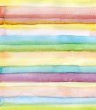 L'estratto spoglia il fondo dell'acquerello Fotografie Stock