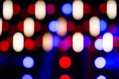L'estratto vago ha condotto le luci Fotografia Stock Libera da Diritti
