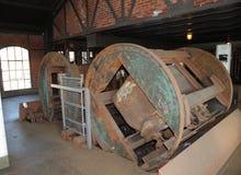 L'estrazione mineraria dei carretti è scaricata Immagine Stock