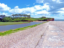 L'estuario della lontra di fiume Immagini Stock