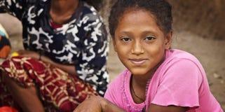 l'Ethiopie : Fille par la rue Photos libres de droits