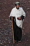 l'Ethiopie : Prêtre orthodoxe dans Gonder Photos stock