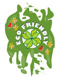 L'etichetta di lerciume per il prodotto rispettoso dell'ambiente royalty illustrazione gratis