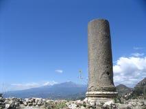 l'Etna vulcan Photographie stock