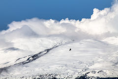 L'Etna (vulcano) Fotografia Stock Libera da Diritti