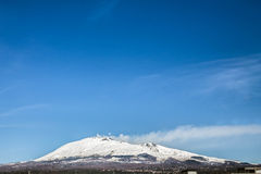 L'Etna (vulcano) Immagine Stock