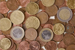 L'euro Photos stock
