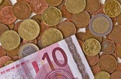 L'euro Photo stock