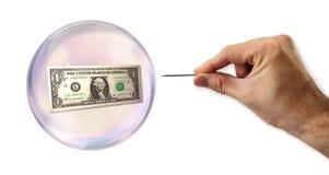 L'euro bolla circa da sfruttare immagini stock