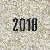 L'euro conia 2018 Fotografie Stock Libere da Diritti