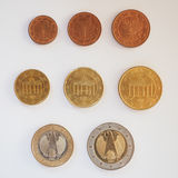 L'euro conia la serie Immagini Stock Libere da Diritti