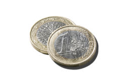 L'euro Francia Immagine Stock