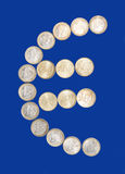 Euro simbolo Immagini Stock