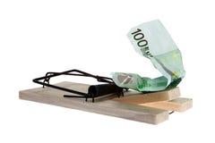 L'euro trappe Photos libres de droits