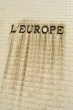 L'Europe 免版税图库摄影