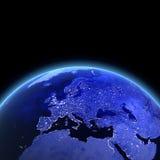 l'Europe 3d rendent Photos stock