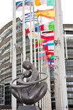 l'Europe avec le coeur - à Coeur de l'Europe Images libres de droits