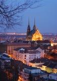 l'Europe Centrale, préposé du service tchèque, Brno photographie stock