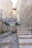 l'Europe, forteresse et château de Consuegra à Toledo, Espagne medie Image libre de droits