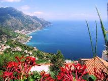 L'Europe - l'Italie - le Ravello Photo libre de droits
