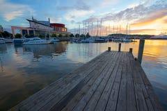 L'Europe, la Scandinavie, la Suède, Gothenburg, le théatre de l'opéra et le port Photos stock