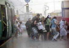 L'EUROPE POLOGNE VARSOVIE Photos libres de droits