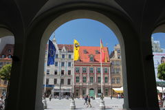 L'EUROPE POLOGNE WROCLAW Photo stock