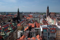 L'EUROPE POLOGNE WROCLAW Image stock