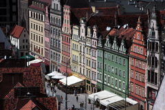 L'EUROPE POLOGNE WROCLAW Photographie stock