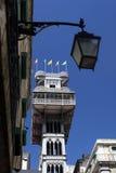 L'EUROPE PORTUGAL LISBONNE ELEVADOR DE SANTA JUSTA Image libre de droits