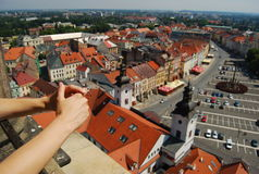 l'Europe, République Tchèque, Hradec Kralove photographie stock libre de droits