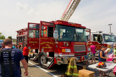 L'evento del tocco-un-camion a christiansburg nell'estate fotografia stock