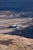 L'excavatrice en charbon à ciel ouvert images libres de droits