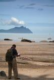 L'explorateur Photographie stock libre de droits