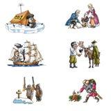 L'explorateur célèbre dans Arctic_3 Image stock