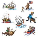L'explorateur célèbre dans Arctic_5 Images stock